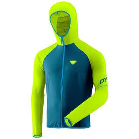 Dynafit Alpine Waterproof Veste 2,5 couches Homme, Bleu pétrole/vert